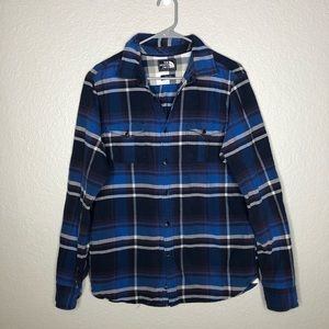 The North Face Flannel Button Down Plaid